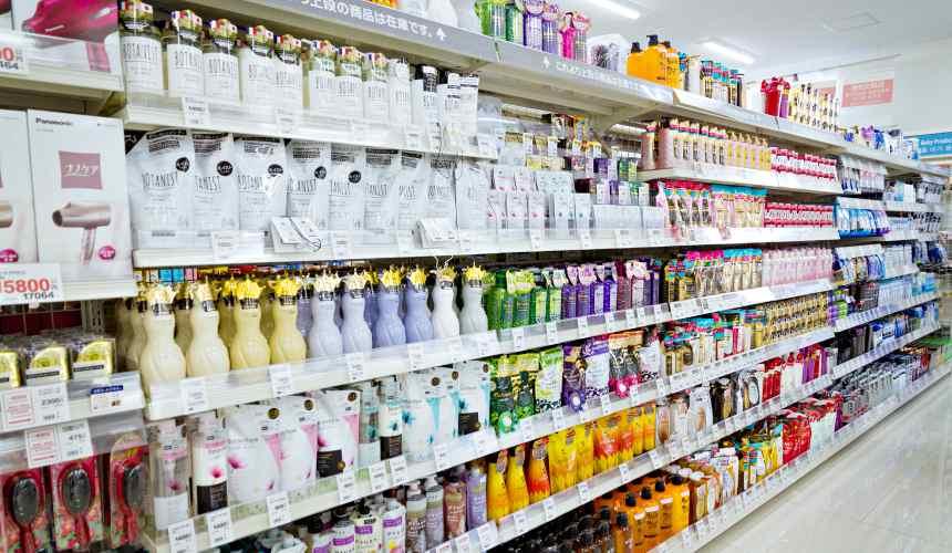 「札幌藥妝 沖繩國際通店」沐浴洗髮用品