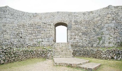 世界文化遺產中城城跡