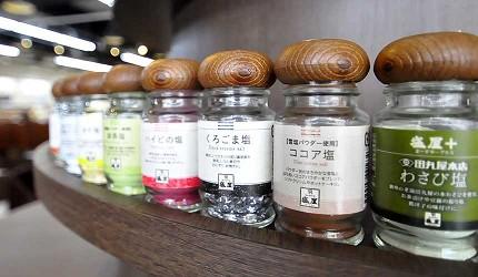 沖繩伴手禮名產推薦!「塩屋」超人氣雪鹽霜淇淋可自由搭配10款以上調味鹽享用