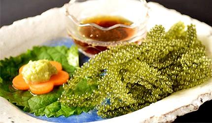 沖繩美食海葡萄