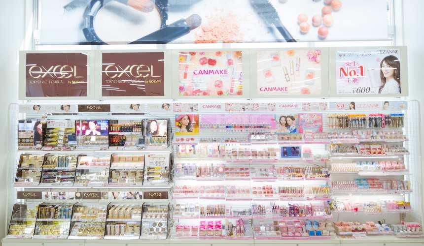 「札幌藥妝 沖繩國際通店」的開架品牌齊全