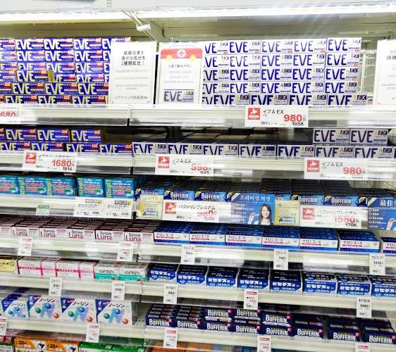 「札幌藥妝 沖繩國際通店」有賣日本必買藥妝EVE止痛藥