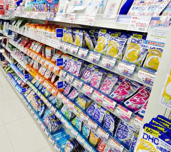 「札幌藥妝 沖繩國際通店」有賣DHC保健食品