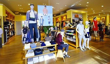 沖繩自由行必買唯一OUTLET「ASHIBINAA」裡的時尚潮流品牌店家「BEAMS」