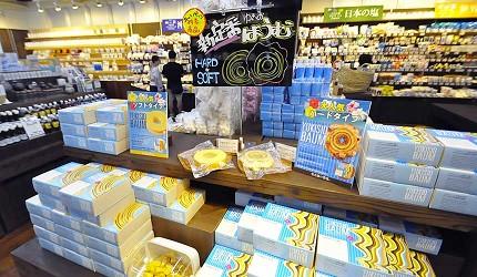 冲绳伴手礼名产推荐!「盐屋」人气咸味甜点:年轮蛋糕