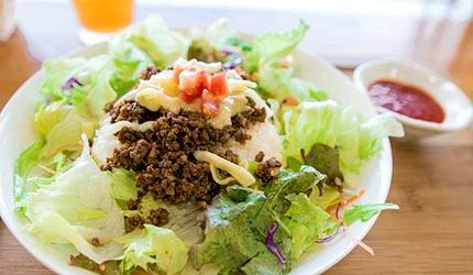 冲绳美食塔可饭tacorice