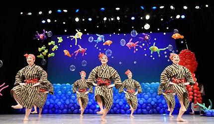 沖繩創作傳統表演Ship of the Ryukyu歡樂氣球