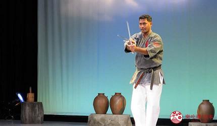 沖繩空手道表演