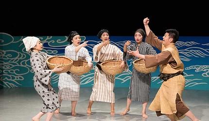 沖繩創作傳統表演Ship of the Ryukyu沖繩燦燦