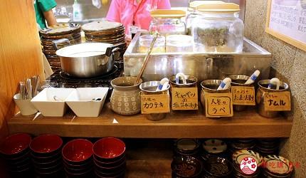 冲绳那霸阿古猪涮涮锅与猪排专门店推荐「冲绳猪排食堂岛豚屋」的豆腐汤与小菜