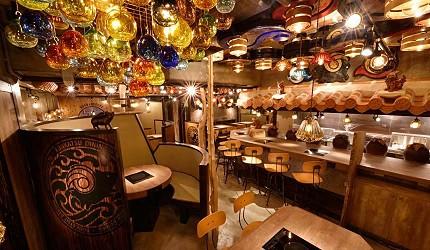 冲绳那霸阿古猪涮涮锅与猪排专门店推荐「冲绳猪排食堂岛豚屋」的店家环境