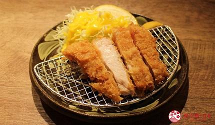 冲绳那霸阿古猪涮涮锅与猪排专门店推荐「冲绳猪排食堂岛豚屋」的阿古猪里肌肉猪排(ロースカツ)