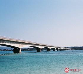 北部的古宇利大橋