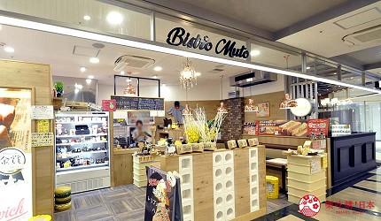 沖繩那霸有許多國際知名或本地有名氣的品牌進駐的新開購物中心「那霸OPA」中可找到的那霸美食金賞「Bistro Muto」雞蛋沙拉三明治。
