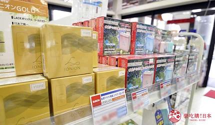 冲绳自由行必买唯一OUTLET「ASHIBINAA」里的个人小型携带空气清净机「LX IONION」