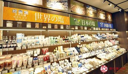 冲绳伴手礼特产推荐店家「盐屋 那霸机场店」店内商品