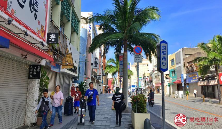 沖繩旅遊孝親自由行推薦購買伴手禮商圈國際通