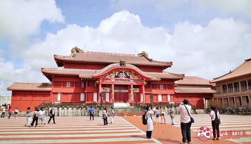 沖繩旅遊孝親自由行推薦景點首里城