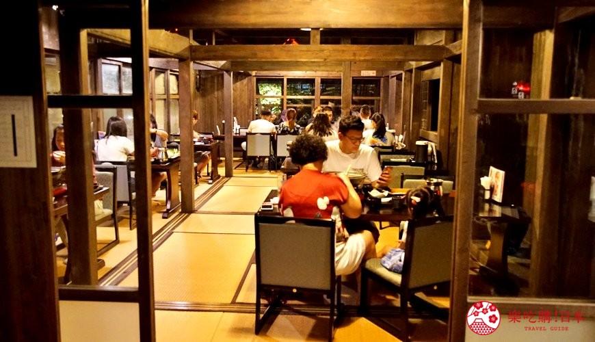 沖繩旅遊孝親自由行推薦美食餐廳「百年古家 大家」店內照
