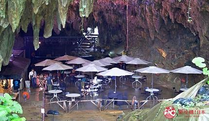 沖繩旅遊孝親自由行推薦必去景點「玉泉洞」附近的「Cave Cafe」