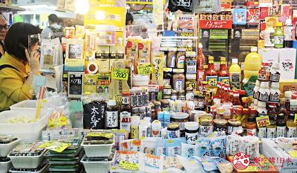 沖繩旅遊孝親自由行推薦必去購物地點「第一牧志市場」的地方特產