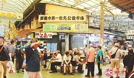 沖繩旅遊孝親自由行推薦必去購物地點「第一牧志市場」原貌