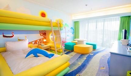 沖繩旅遊孝親自由行推薦必住飯店「RENAISSANCE RESORT 沖繩」的親子設計主題房