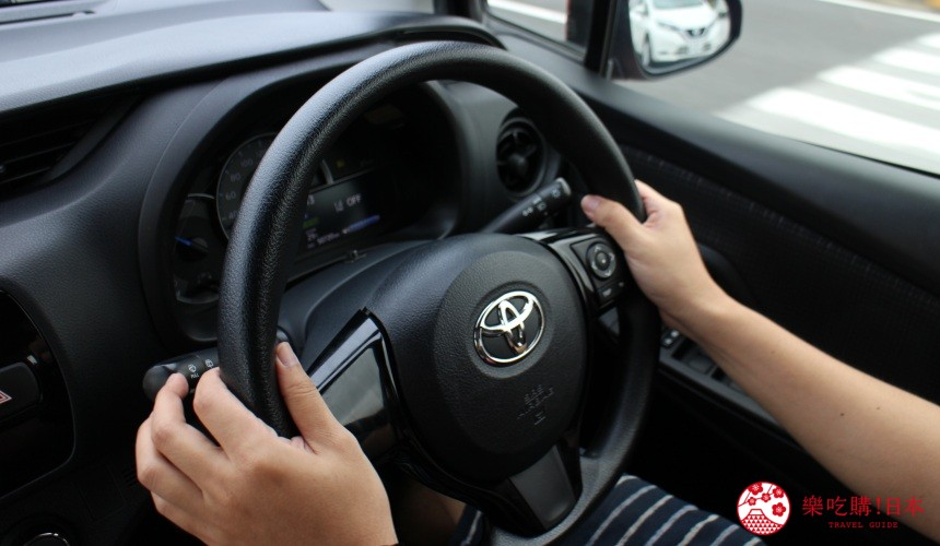 冲绳自驾游租车攻略之车上的方向盘