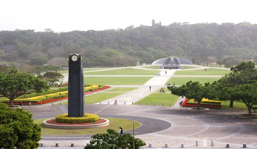 冲绳自驾游租车推荐景点冲绳平和祈念公园