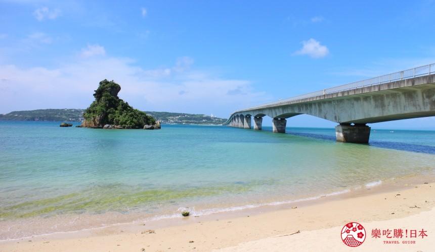 冲绳自驾游租车推荐景点古宇利岛的跨海大桥