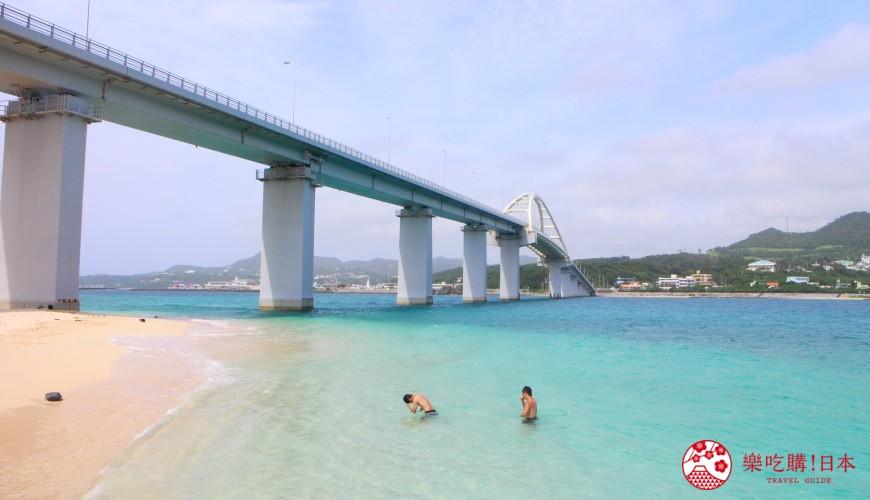 沖繩景色示意圖
