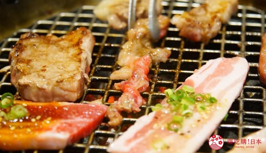 沖繩必吃美食推薦11選燒肉店家「燒肉乃我那霸」的烤肉
