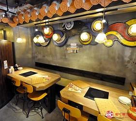 冲绳那霸阿古猪涮涮锅与猪排专门店推荐「冲绳猪排食堂岛豚屋」的内的雅座