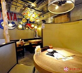 冲绳那霸阿古猪涮涮锅与猪排专门店推荐「冲绳猪排食堂岛豚屋」的内的半包厢座位