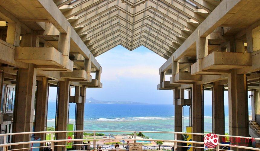 冲绳必去景点推荐「美丽海水族馆」的 4F 的渔夫之门