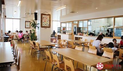 沖繩必吃美食推薦11選海鮮店家「海人食堂」的2樓食堂
