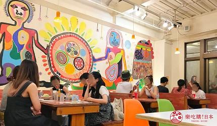 沖繩必吃美食推薦11選塔可飯店家「Taco Rice Cafe Kijimuna」的店家一景