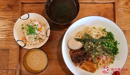 沖繩必吃美食推薦11選冷麵店家「Okinawa Soba EIBUN」的新沖繩沾麵