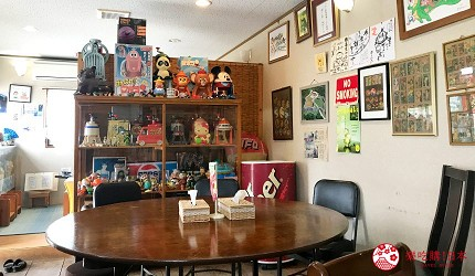 沖繩必吃美食推薦11選甜點名店「鶴龜堂善哉」的店內座位
