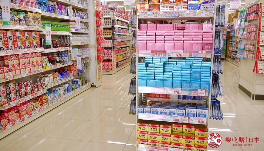 日本沖繩自由行必逛藥妝店COSMOS科摩思沖映通店的店舖環境