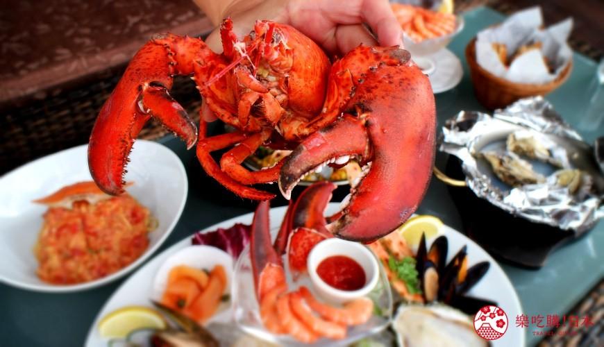 沖繩美國村超人氣名店「Red Lobster」:肥龍蝦肉質Q彈鮮甜、螃蟹義大利麵超濃郁!