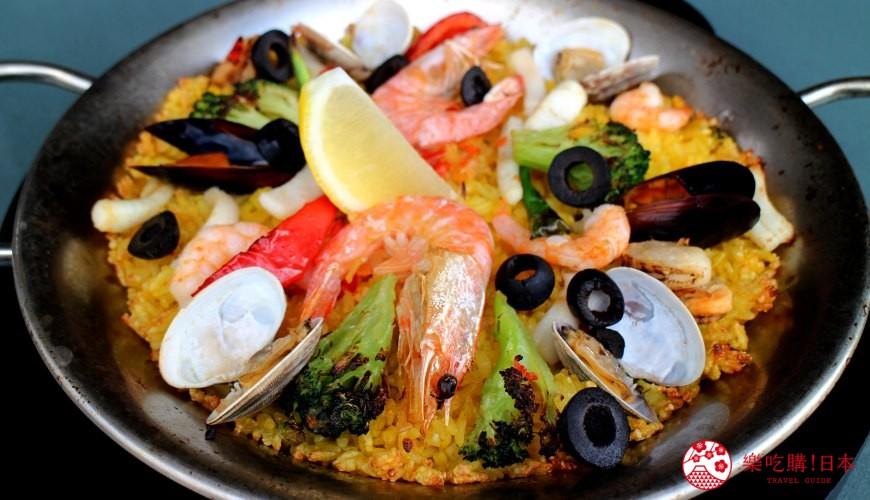 沖繩美國村超人氣名店「Red Lobster」沖繩北谷店主廚西班牙海鮮飯(シェフズパエリア)