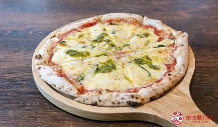 冲绳美食必吃南风中城店嫩滑明太子玉子烧爆浆海葡萄超推荐玛格丽特披萨