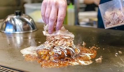冲绳美食必吃南风中城店嫩滑明太子玉子烧爆浆海葡萄超推荐豪华御好烧