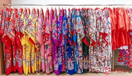 冲绳和服出租店推荐veni体验穿着南国传统琉装游冲绳的店内有多款琉装